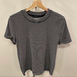 Brandy Melville Striped Short Sleeve Top